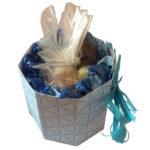8-eckige Geschenkverpackung für z.B. Pralinen