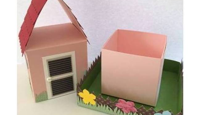 """Geschenkverpackung """"Haus und Garten"""" zur Einweihungsparty"""