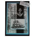 Geburtstagskarte für Wassersportler und Bootsliebhaber