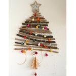 """""""Weihnachtsbaum to Go"""" aus Ästen – Passt in die kleinste Wohnung"""