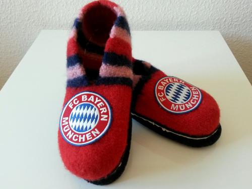Filzschuhe FC Bayern München