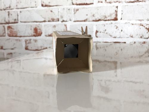 Schau in die Verpackung - dort ist der Geschenkgutschein
