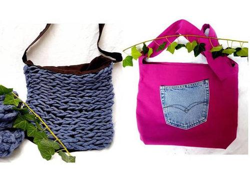 Lass Deiner Phantasie freien Lauf. Mit dieser Tasche kannst Du dir ein individuelles Schmuckstück selbst nähen.