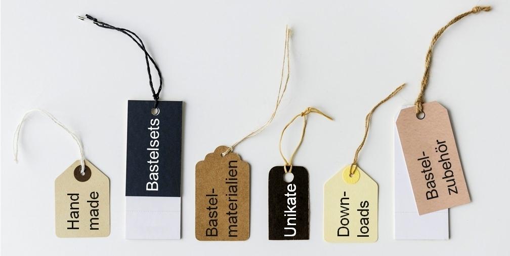 Kauf hier DIY-Produkte, Unikate, Bastelmaterialien, Schnittmuster und vieles mehr.