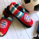 Filzschuhe Bayern München Generation 2 – Strickanleitung