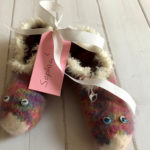 Filzschuhe Sophia II – Strickanleitung für kleine Kinderfüße