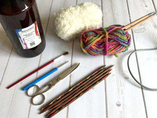 Diese Materialien und Equipment benötigst Du für DIY-Kinderfilzschuhe
