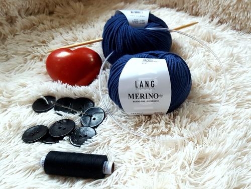 Diese Materialien brauchst Du, um einen eigenen Pullunder zu stricken.