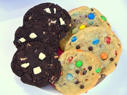 Ein toller voll Cookies Kunterbunt und Black & White
