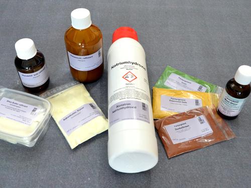 Das sind die Zutaten für eine Seife, um die Haut im Herbst optimal zu reinigen und zu pflegen.