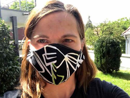 So wird die Mund-Nasen-Maske getragen.