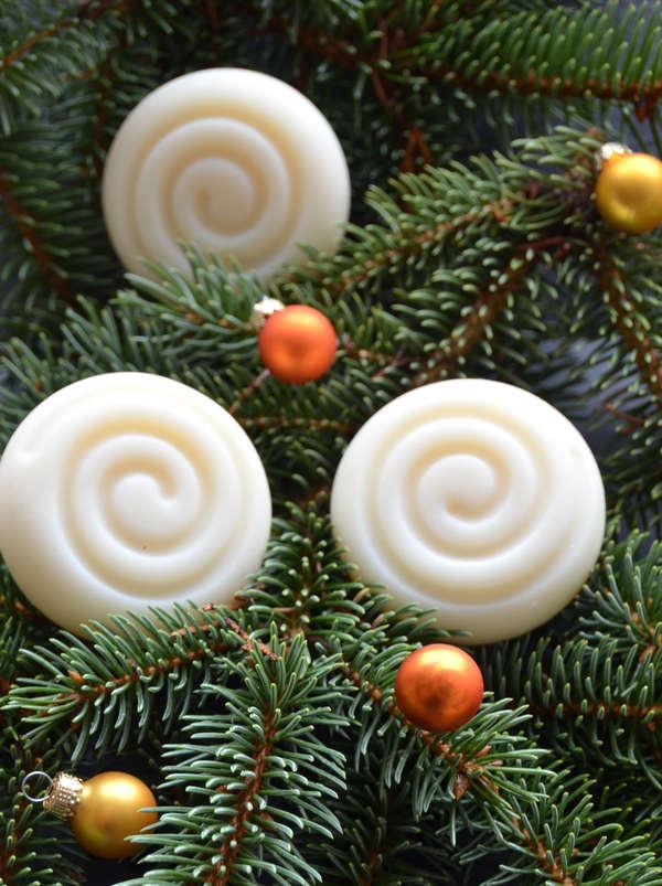 Verschenke zu Weihnachten doch selbstgemachte Seifen!